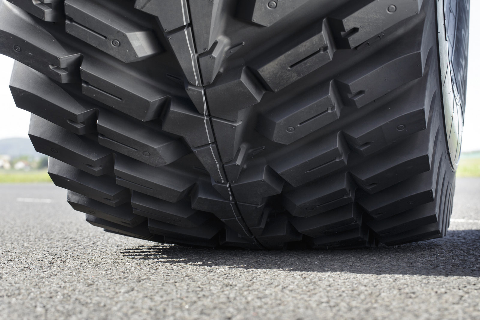 Michelin has unveiled a new generation of agricultural tyre – the RoadBib – co-designed with agricultural contractors