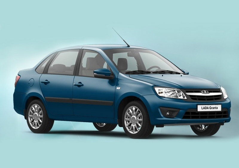 Lada Kalina Blue Planet новый цвет