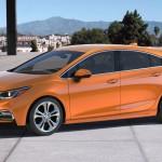 Представлен новый хэтчбек Chevrolet Cruze