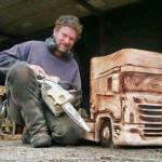 Крутые деревнные копии известных марок грузовиков