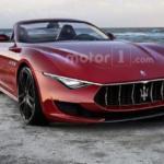 Рендер Maserati Alfieri Cabrio 2019 заслуживает похвалы