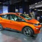 Chevrolet Bolt 2017 получил 200-сильную силовую установку