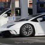 Тюнер оснастил Lamborghini Aventador гигантским антикрылом