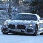 Mercedes-AMG GT-R демонстрирует грозный вид на шпионских фото