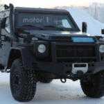 Mercedes-Benz испытывает в Арктике лёгкий броневик на базе G-Class