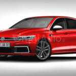 Независимый рендер Volkswagen Golf 2017