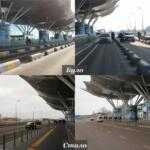 В «Борисполе» убрали ограничители парковки перед терминалом D