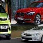 Какая модель автомобиля потеряет меньше всего стоимости через три года?