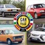 Все «Автомобили года в Европе» с 1964 года