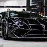 Черный Tron Lamborghini Aventador от Giovanna Wheels