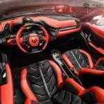 Carlex Design сделал макияж салона Ferrari 458 Spider