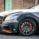Тюнингованный Mercedes CLS 500 невозможно пропустить