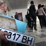 В Крыму продлили действие украинских номерных знаков
