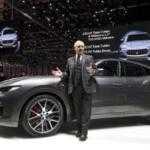 430-сильный Maserati Levante прибыл на Женевский автосалон
