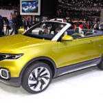 Volkswagen привёз в Женеву вседорожный кабриолет T-Cross Breeze