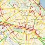 Полиция попросила водителей объезжать центр Киева из-за ремонтов (список адресов)