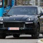 Porsche Cayenne 2018 замечен в Германии