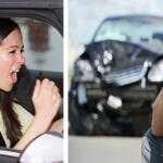 Опасное вождение, показаны примеры видео