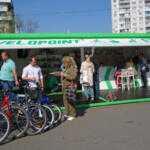 Новый перехватывающий велопаркинг появится на Левобережной