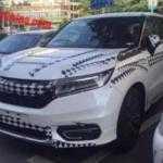 Серийный Honda Avancier на шпионских фото