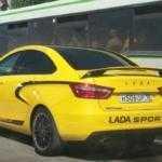Lada Vesta Sport засветилась на фото