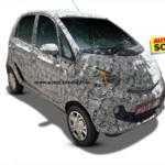 Появились первые фото нового «бюджетника» на базе Tata Nano