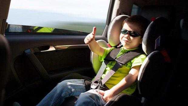 Установка детского кресла в машину