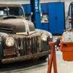 Видео реставрации двигателя от Ford 1946 года выпуска