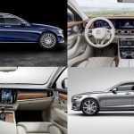 Сравнение двух универсалов, Mercedes-Benz E-Class и Volvo V90 2017 года