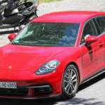 Porsche Panamera 2017 замечен почти без камуфляжа