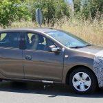 Обновленный Renault Sandero на шпионских фото