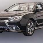 Mitsubishi Lancer получил рестайлинговую версию для рынка Китая