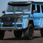 Mansory сделал Mercedes G500 4×4 небесно-голубым