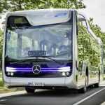 В Нидерландах испытали самоуправляемый автобус Mercedes-Benz