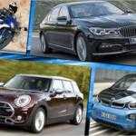 BMW: Рекордные продажи за первые 6 месяцев 2016 года