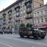 Сегодня центр Киева снова перекроют для репетиции парада
