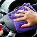 Как очистить рулевое колесо