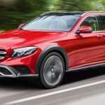 2017 Mercedes E Class All Terrain, внешность официально раскрыта