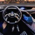 Показан интерьер Lexus UX Concept