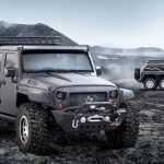 Китайцы создали трёхосный Jeep Wrangler