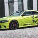 Dodge Charger Hellcat получил улучшения от немецких тюнеров