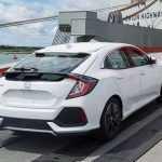 Новое поколение хэтча Honda Civic представят на Парижском автосалоне