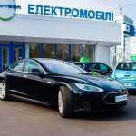 В Киеве Tesla Model S начал работать в такси