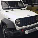 Рассекречен отвергнутый дизайн Jeep Wrangler нового поколения