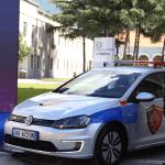 Албанская полиция купила электрические VW Golf