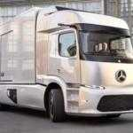 Концептуальный грузовик Mercedes-Benz Urban eTruck