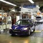 Subaru Impreza впервые сошла со сборочного конвейера в США