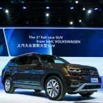 Китайский Volkswagen Teramont обошел по мощности американский Volkswagen Atlas