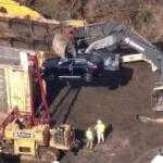 В США во время железнодорожной аварии разбили 120 кроссоверов BMW