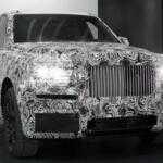 Rolls Royce показал первые фотографии внедорожника Cullinan